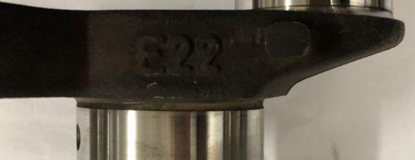 Pre-Owned Mercedes-Benz 111 E22 Crankshaft