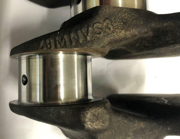 Pre-Owned Mercedes-Benz 102 200 230-Casting-10201 Crankshaft