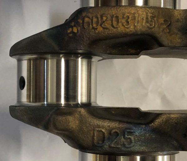 Pre-Owned Mercedes-Benz 602-Casting-60203115 Crankshaft